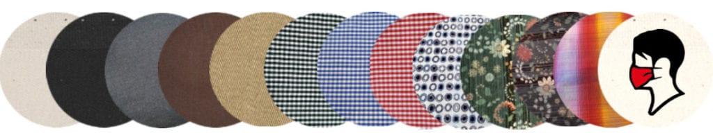 Textil szájmaszk - mosható, fertőtleníthető, kivehető légszűrő betéttel. Vidám színekben, mintákkal.