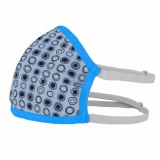 Textile face mask - washable, disinfectable. Removable filter