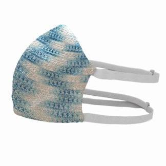 Textil szájmaszk, arcmaszk - mosható, fertőtleníthető. Kivehető szűrőbetét.