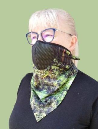 Kendő-maszk